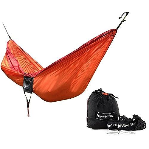 premium outdoor hammock for hiking   camping   backpacking  u0026 more    free hanging straps   parachute nylon fabric    pact  u0026 lightweight set   bag     backpacking hammock kit  amazon    rh   amazon