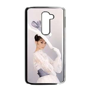 Audrey Hepburn LG G2 Cell Phone Case Black gife pp001_9294316