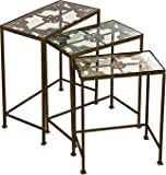 IMAX 74045-3 Torry Nested Tables, Set of 3