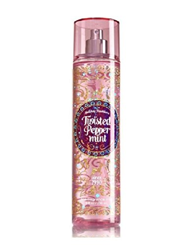 (TWISTED PEPPERMINT Holiday Traditions Bath & Body Works Fine Fragrance Mist - Single)