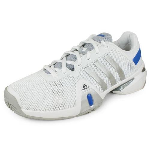 cheap sale best sale recommend adidas Men's Barricade 8 White/Metallic Silver/Blue Beauty 2015 cheap price discount newest T096dRX