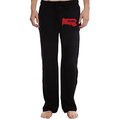 Men's Open Bottom Sweatpant Pittsburgh Pennsylvania Home Casual - Shopping In Pennsylvania Pittsburgh