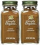 Simply Organic Ground Ceylon Cinnamon (2 Pack)
