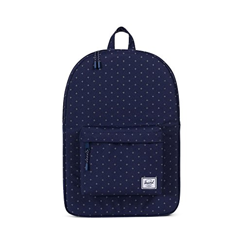 Herschel Supply Co. Classic Backpack, Peacoat Gridlock