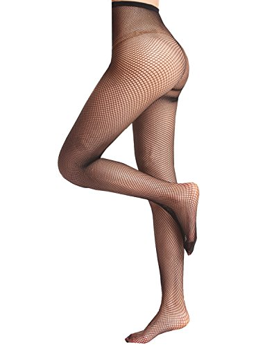 Black Diamond Fishnet Pantyhose - 9