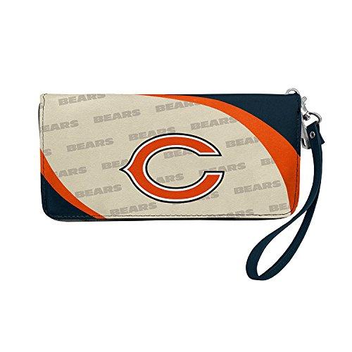 NFL Chicago Bears Curve Zip Organizer Wallet