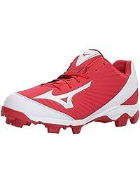 Mizuno (MIZD9))))) Men's 9-Spike Advanced Franchise 9 Molded Cleat-Low Baseball Shoe