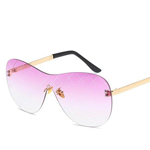 sol siamés metal de Europa color tendencia Aoligei sol Unidos los damas de del sin gafas C Estados gafas y Moda de hombres sol de marco gafas qFqOa8w