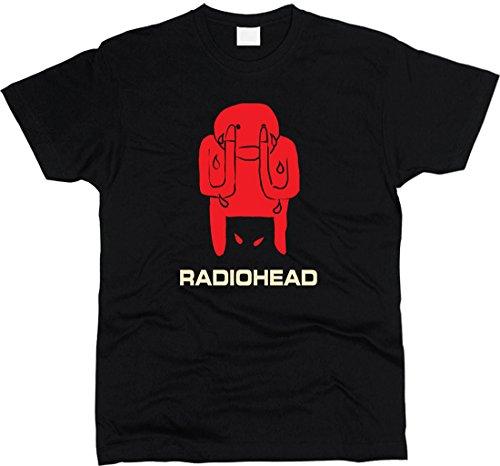 Radiohead Amnesiac T-shirt Men Regular Fit (S)