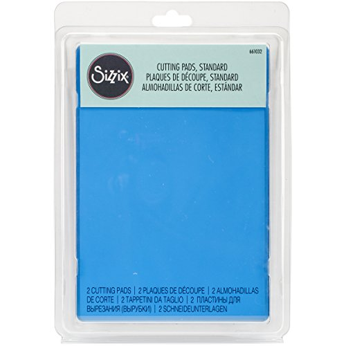 Sizzix Accessory Standard Cutting Pads, 1 Pair, Blueberry