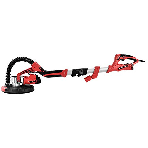 SUNCOO Commerical Electric Drywall Sander Variable Disc Sanding Pole Toosl Adjustable Speed Sanding with LED Light 750W Red by SUNCOO (Image #2)