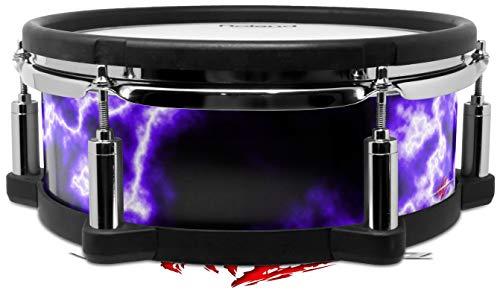Skin Wrap Compatible with Roland PD-108 Drum Electrify Purple (Drum NOT ()