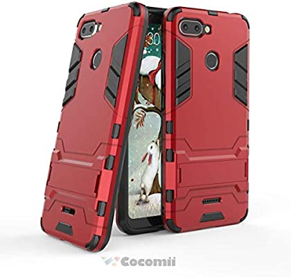 Cocomii Iron Man Armor Xiaomi Redmi 6 Funda [Robusto] Superior Táctico Sujeción Soporte Antichoque Caja [Militar Defensor] Cuerpo Completo Sólido Case ...