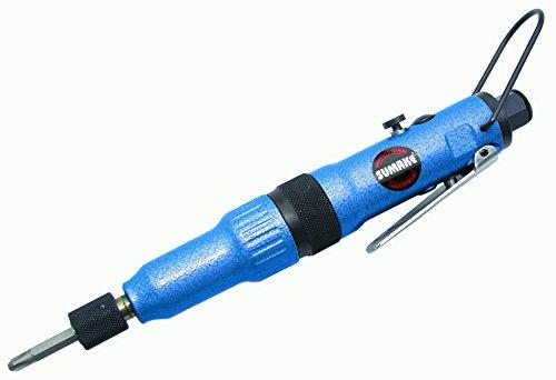 In Pneumatic Line Screwdriver - Sumake ST-4450A Professional Air Inline Adjustable Clutch Screwdriver; Max Torque: 2.2 ft-lbs, 3 N-m