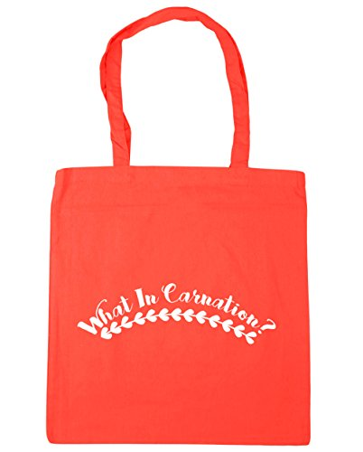 HippoWarehouse - Bolsa de playa de Algodón  Mujer Coral