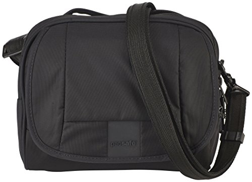 - Pacsafe Metrosafe Ls140 Anti-Theft Compact Shoulder Bag, Black