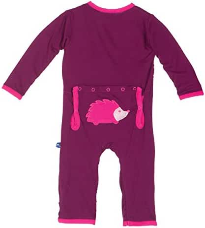 KicKee Pants Boys/Girls Fitted Applique Coverall