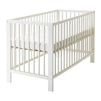 Kinderbett weiß ikea  IKEA GULLIVER Babybett in weiß: Amazon.de: Küche & Haushalt