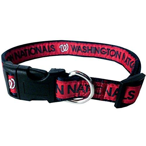 MLB WASHINGTON NATIONALS Dog Collar, Large]()