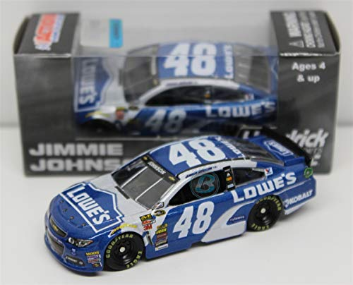 Lionel Racing C485865LOJJ Jimmie Johnson #48 Lowes 2015 Chevy SS 1:64 Scale ARC HT Official NASCAR Diecast Car by Lionel Racing