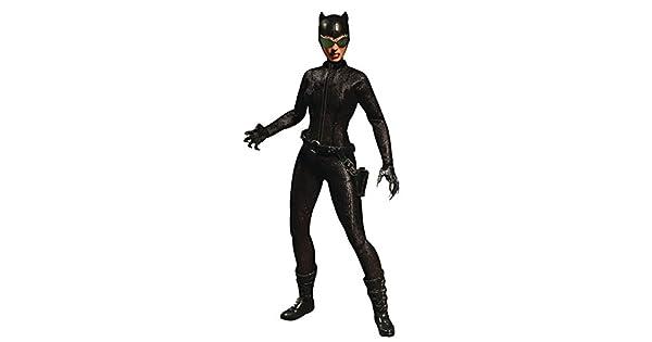 Amazon.com: Mezco Toys Uno: 12 colectivo: DC Catwoman figura ...