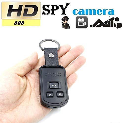 CYGG Mini HD Coche Llavero, 1080P Spy cámara Oculta DVR grabadora de vídeo Digital videocámara CAM