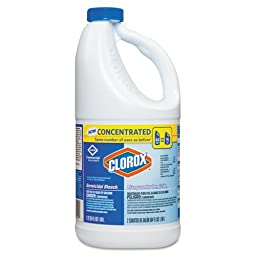 CLO31009 - Concentrated Germicidal Bleach, Regular, 64oz Bottle