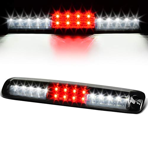 (LED 3rd Brake Light for Chevy Chevrolet Silverado GMC Sierra 1500 2500 3500 1999-2006 & 2007 HD with Classic Body Style High Mount Trailer Third Cargo Lamp Smoke)
