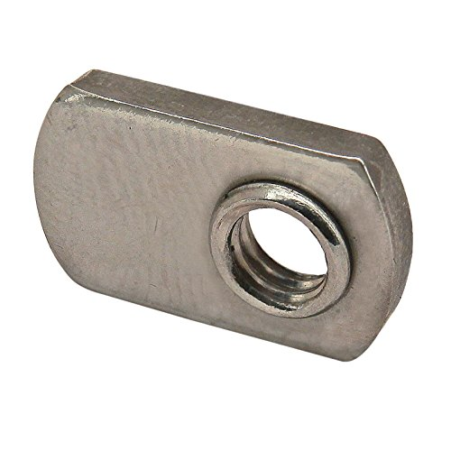 - 80/20 Inc, 3676, 10 Series, Stainless Steel Slide-in Economy T-Nut 10-32 (25 Pack)