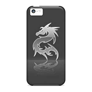 CaroleSignorile Cases Covers For Iphone 5c - Retailer Packaging Dragon Protective Cases
