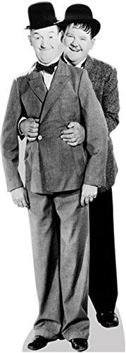 Celebrity Cutouts Laurel and Hardy Pappaufsteller lebensgross