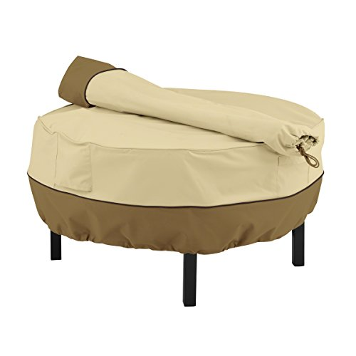 Classic Accessories Veranda Rancher Fire Pit/Grill Cover And Rotisserie Storage Bag