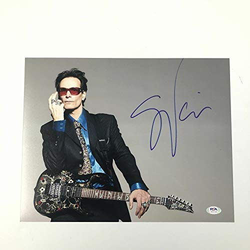 Steve Vai Autographed Signed 11x14 Photo PSA/DNA Autographed
