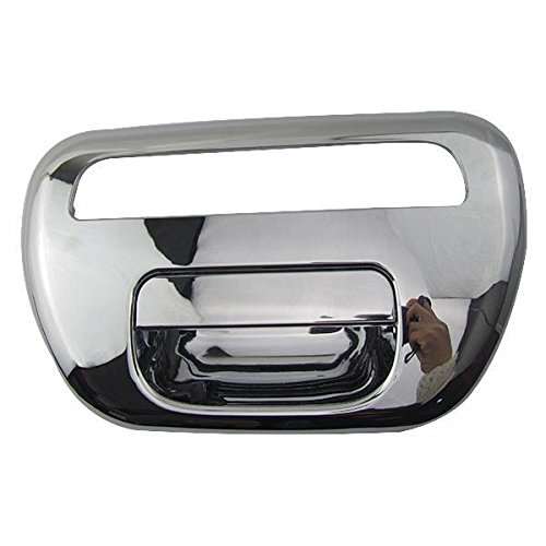 EXKOW Tailgate Back Door Handle for Mitsubishi Triton L200 Pickup 2005 - on 2.5L Diesel Chrome 6730A007HC