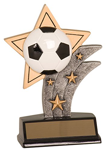 - 5 1/2 inch Football Sports Trophy Award Style-2 2 inch Insert Holder Sport Star Resin, Sports Medals, Sports Trophies. Player Trophy With Custom Engraved Name