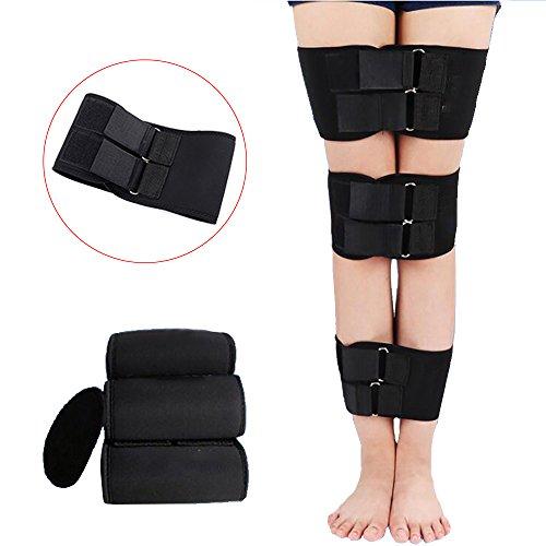 Enshey Legs Corrector Belt Band Straighten Belt Durable Material Leg Correction Device for XO-Type Leg 3 Pcs Set