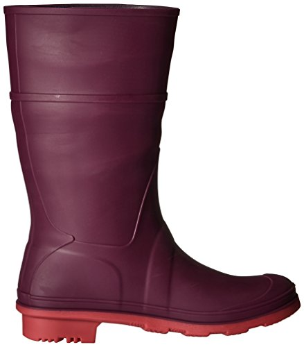 Pictures of Kamik Girls' Raindrops Rain Boot Dark Purple EK4137H 3
