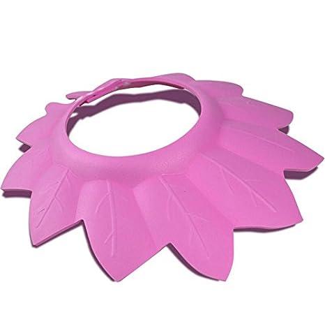 Gorra protectora para el pelo BANCN para niños y niñas, color rosa ...
