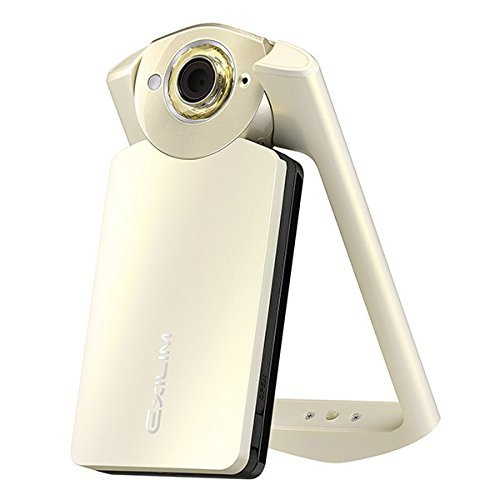 Casio Exilim High Speed EX-TR60 Self-portrait /Selfie Digital Camera (Silky White) - International Version (No Warranty)