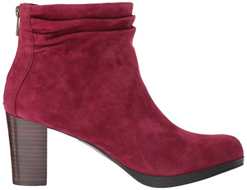 Bella Vita Bottine Femme Landon Bottine Burgundy Kid Suede