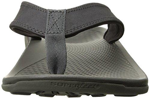 Flop Superfeet 2 Magnet Flip Outside Sandals Men's Charcoal Gray vPfqU