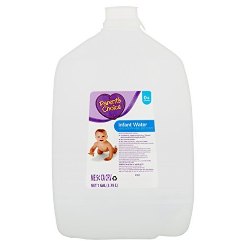 Parent's Choice Infant Purified Water with Selected Minerals 1 Gallon - Pack of 6