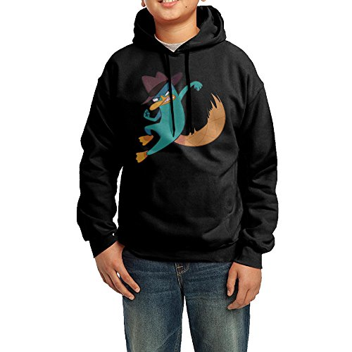 Phineas And Ferb Agent P Junior Classic Pullover Athletic Sweatshirt (Phineas And Ferb Agent P Hoodie)