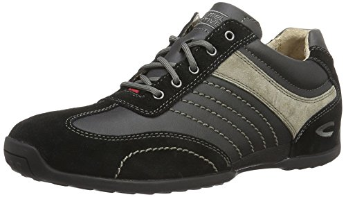 camel active Space 12, Zapatillas para Hombre Negro (Black/grey 32)