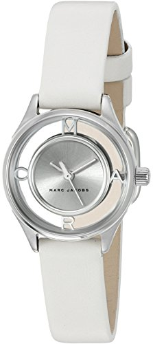 Marc Jacobs Women's Tether White Leather Watch - MJ1460