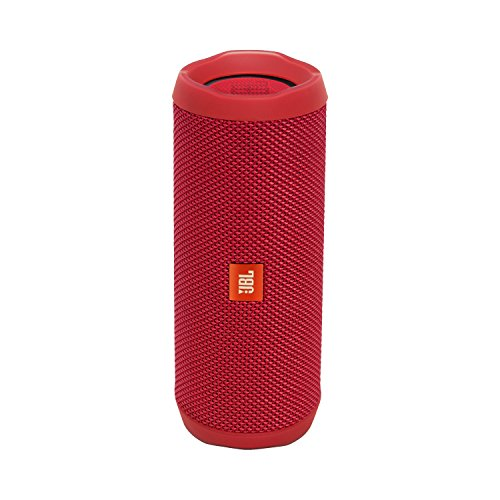 JBL Flip 4 Waterproof Portable Bluetooth Speaker (Red), SMALL