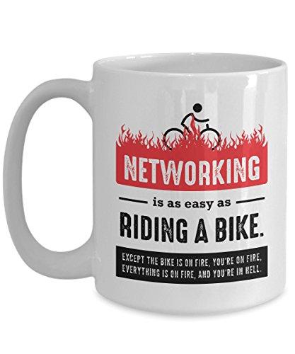 Network Engineer Gift, Network Engineer Mug, Network Administrator Gift, Sysadmin Gift, Sysadmin Christmas Gift, Funny Networking (Network Gift)