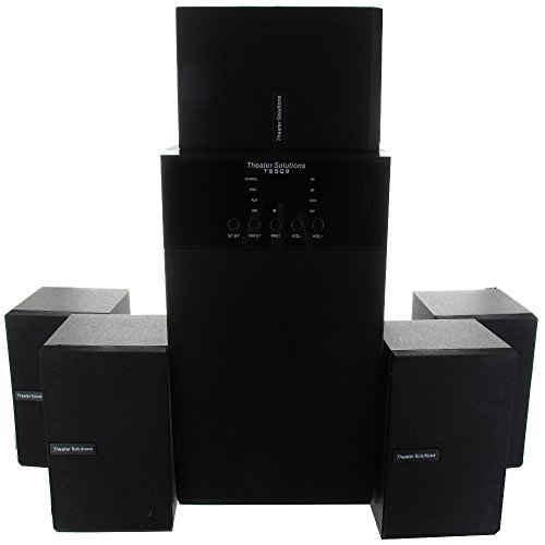 Theater Solutions TS509 5.1 Surround Sound Home Entertainment System by Theater Solutions