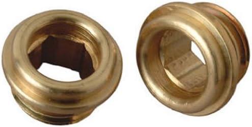 brass craft service parts scb0775x 10 Pack, 1/2 -Inch x 20 Thread, Brass Seat