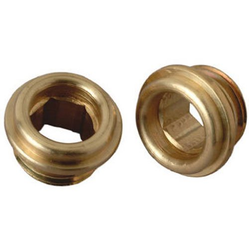 brass craft service parts scb0775x 10 Pack, 1/2 -Inch x 20 Thread, Brass Seat by BrassCraft